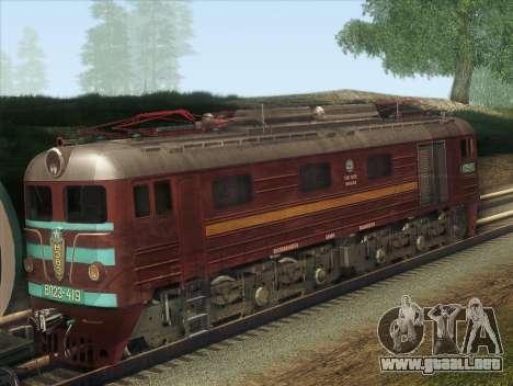 VL23-419 para GTA San Andreas vista posterior izquierda