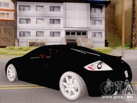 Mitsubishi Eclipse v4 para la visión correcta GTA San Andreas