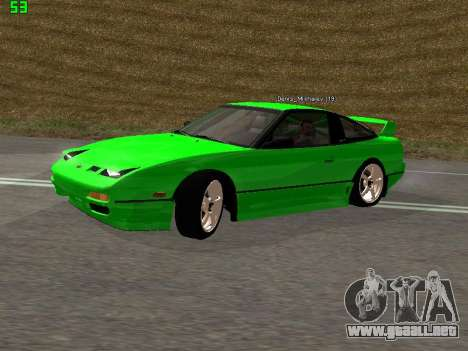 Nissan 240SX Drift Version para GTA San Andreas left