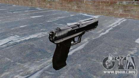 Pistola Crysis 2 para GTA 4 segundos de pantalla