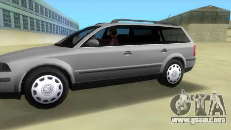 Volkswagen Passat B5+ Variant 1.9 TDi para GTA Vice City left
