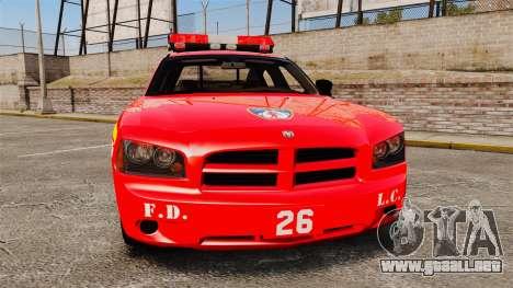 Dodge Charger LCFD Battalion Chief [ELS] para GTA 4