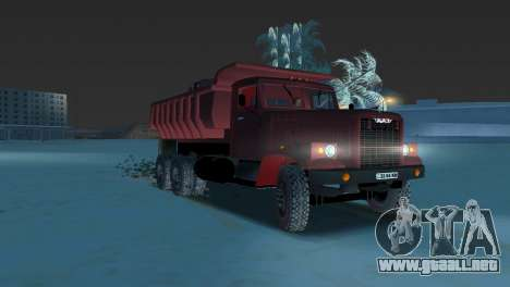 Camión KrAZ 255 para GTA Vice City left