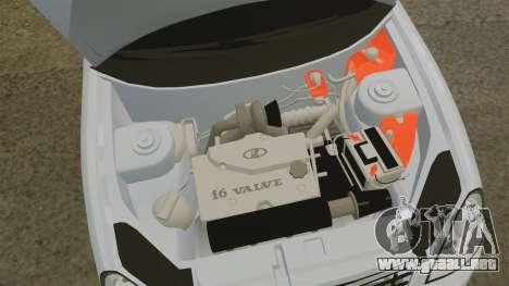 Vaz-2170 para GTA 4 vista interior