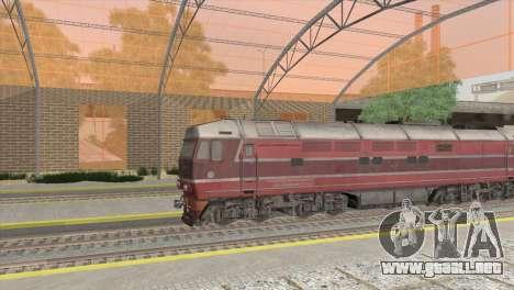 Estación de ferrocarriles en San Fierro para GTA San Andreas segunda pantalla