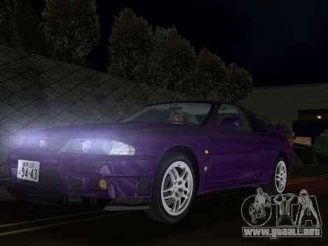 Nissan SKyline GT-R BNR33 para GTA Vice City
