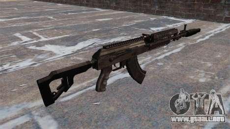 AK-103 para GTA 4 segundos de pantalla