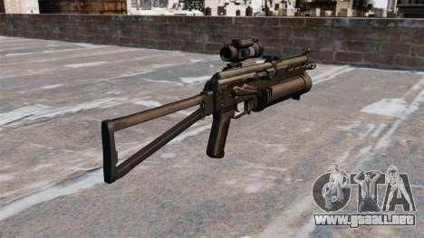 Subfusil ametrallador pp-19 Bizon para GTA 4 segundos de pantalla