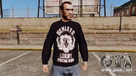 Suéter-Henleys - para GTA 4