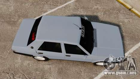 Tofas Sahin para GTA 4 visión correcta