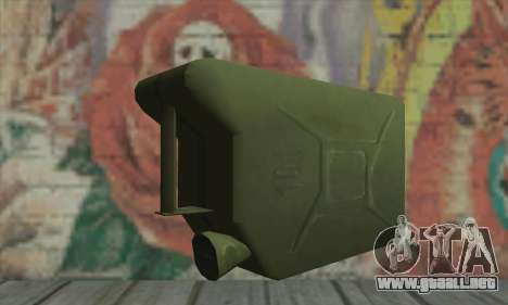 Frasco para GTA San Andreas segunda pantalla