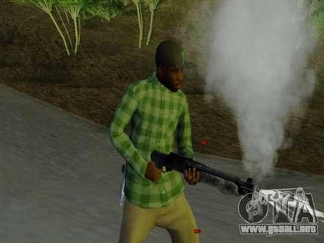 El pandillero de Grove Street de GTA 5 para GTA San Andreas