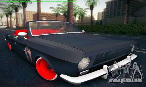 GAZ Volga 24 Cabriolet para GTA San Andreas left
