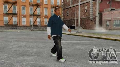 Clinton Franklin para GTA 4 adelante de pantalla