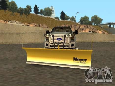 Ford F-450 para GTA San Andreas left