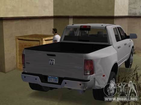 Dodge Ram 3500 Laramie 2012 para GTA Vice City left