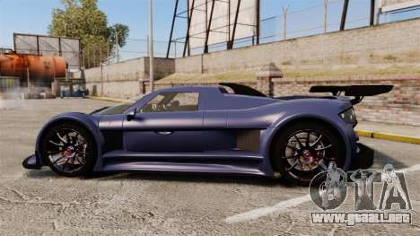 Gumpert Apollo S 2011 para GTA 4 left