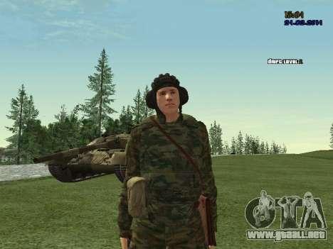 Tankman para GTA San Andreas sucesivamente de pantalla