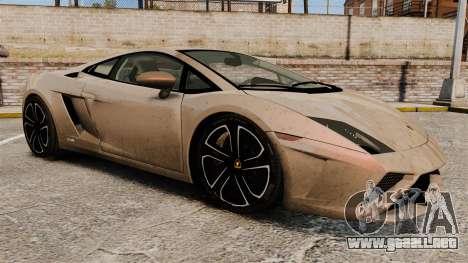 Lamborghini Gallardo 2013 v2.0 para GTA 4 vista lateral