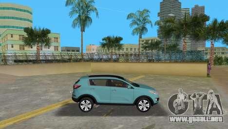 Kia Sportage para GTA Vice City left