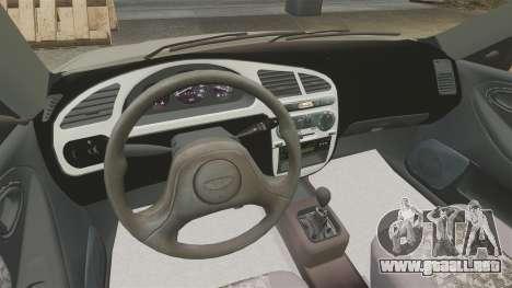 Daewoo Lanos S PL 2001 para GTA 4 vista interior