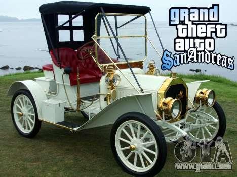 New loadscreen Old Cars para GTA San Andreas octavo de pantalla