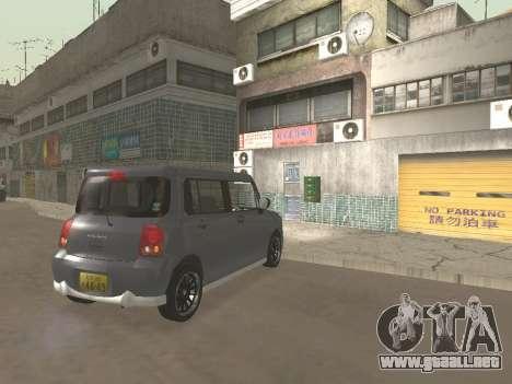 Suzuki Alto Lapin para la vista superior GTA San Andreas