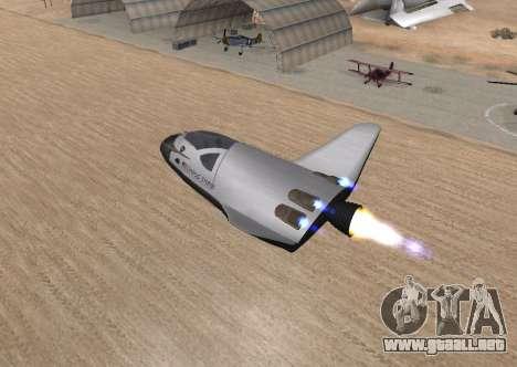 FARSCAPE modul para visión interna GTA San Andreas