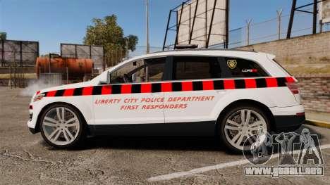 Audi Q7 Enforcer [ELS] para GTA 4 left