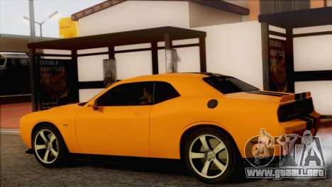Dodge Challenger SRT8 2012 HEMI para GTA San Andreas left