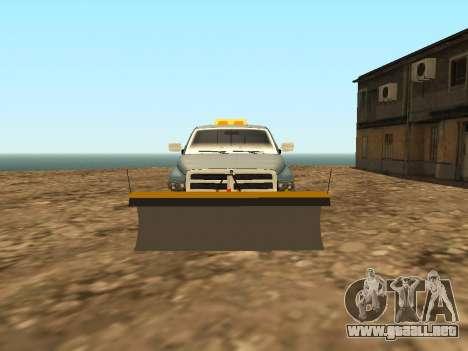 Dodge Ram para visión interna GTA San Andreas