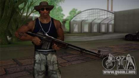 Browning M1918 para GTA San Andreas tercera pantalla