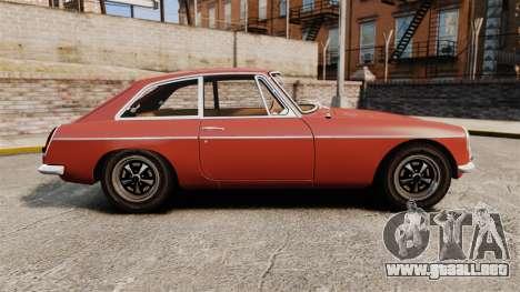 MG MGB GT 1965 para GTA 4 left