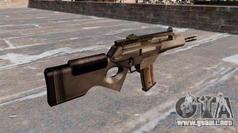 FUSIL HK SL8 de Bullpup para GTA 4 segundos de pantalla