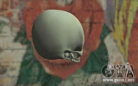 Cráneo para GTA San Andreas segunda pantalla
