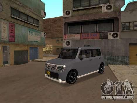 Suzuki Alto Lapin para GTA San Andreas left