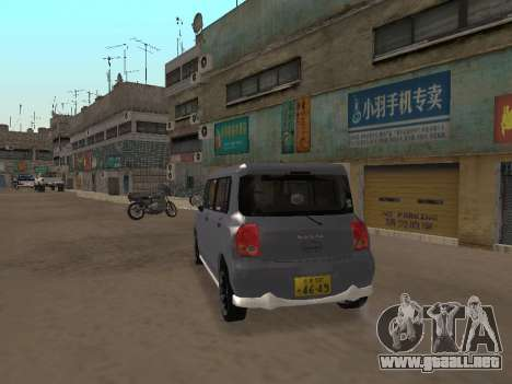 Suzuki Alto Lapin para la visión correcta GTA San Andreas