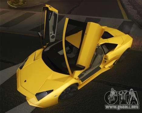 Lamborghini Reventon 2008 SLOD para la visión correcta GTA San Andreas