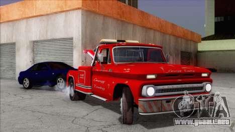 Chevrolet C20 Towtruck 1966 1.01 para GTA San Andreas
