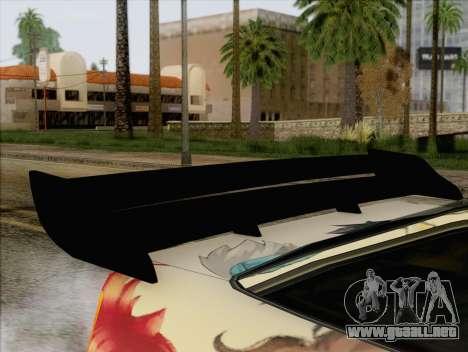 Uranus Grand Chase Texture para GTA San Andreas vista hacia atrás
