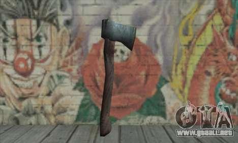 Axe para GTA San Andreas segunda pantalla