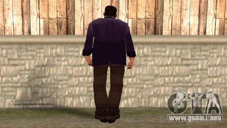 Toni Cipriani para GTA San Andreas segunda pantalla