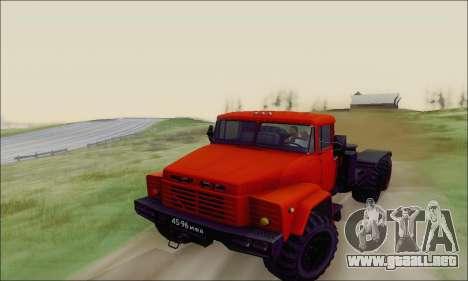 KrAZ 260v para vista lateral GTA San Andreas