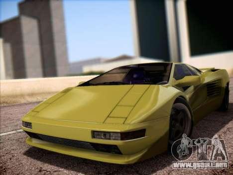 Cizeta Moroder V16T 1988 para GTA San Andreas