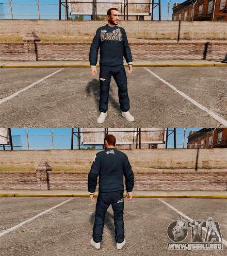 Bosco-ropa deportiva- para GTA 4 segundos de pantalla