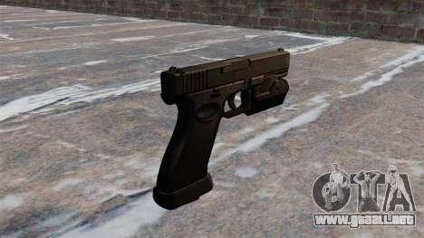 Carga automática pistola Glock 20 para GTA 4 segundos de pantalla
