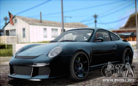 RUF RT12R para vista inferior GTA San Andreas