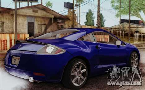 Mitsubishi Eclipse GT v2 para GTA San Andreas left