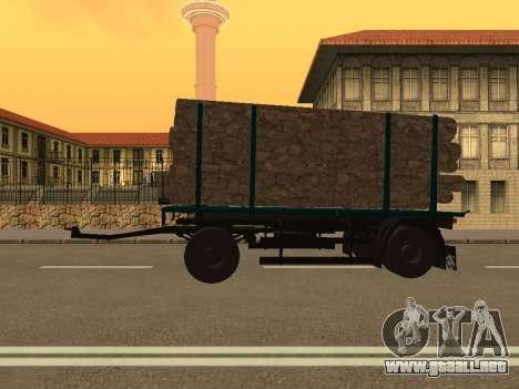 Trailer de MAZ 6430 para GTA San Andreas left