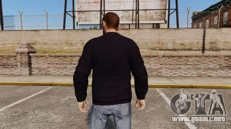Suéter-Henleys - para GTA 4 segundos de pantalla
